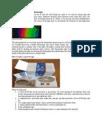 Building a Simple Spectroscope