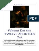 Where Did the Twelve Apostles Go?
