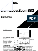 Infinity SuperZoom 330 Instructions En