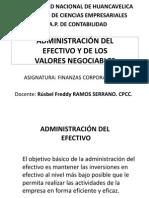 Finanzas Corporativas II - Administración Efectivo Valores Negociables (1)
