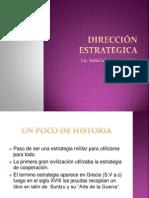 Dirección Estrategica Clase 1