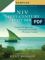 NIV First-Century Study Bible Sampler