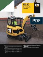 CAT 302.5C Mini Hydraulic Excavator
