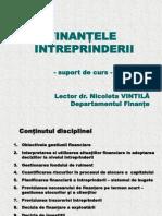 1 Introducere in Finantele Intreprinderii