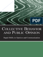 Collective Behaviour and Public Opinion