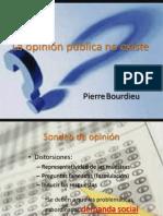P.bourdieu _ La Opinión Pública No Existe