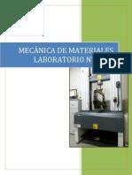 Mecanica de Materiales Flexion en Vigas
