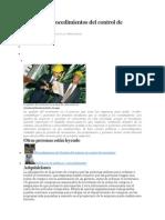 Políticas y Procedimientos Del Control de Inventarios