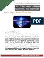 Posible Contacto Con Arcturianos