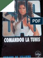 Gerard de Villiers - Comandou La Tunis