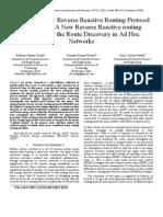 Optimal Energy Reverse Reactive Routing Protocol (OERRRP)