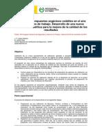 Analisis_compuestos_organicos Volátiles en El Aire. INSHT