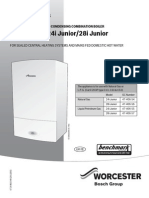 User Manual for Greenstar i Junior Manufactured From Jul 13