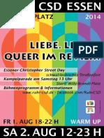 Programm Ruhr.CSD 2014