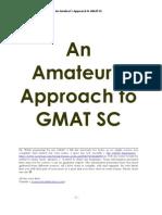 Amateurs GMAT  SC 2006