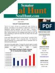 July Newsletter from Senator Neal Hunt