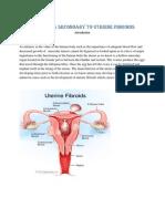 uterine fibroids Case Study