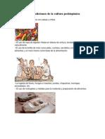Costumbres y Tradiciones de La Cultura Prehispánica