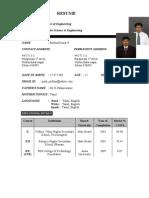 Wipro Resume 1
