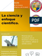 La Ciencia y El Enfoque Cientificico (Presentacion)