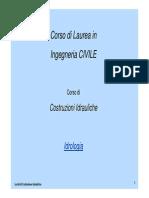 Idrologia - Statistica Idrologica