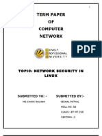 1.Network Security in Linux