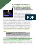 Dr. Martí Bosch - Desintoxicar y Alcalinizar