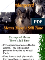 Endangered Species Presentation