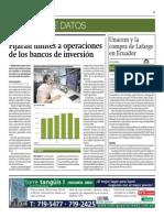 Fijarán Límites a Operaciones de Bancos de Inversión_Gestión 3-07-2014