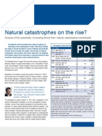 Risk Pulse- Focus- Natural Catastrophes