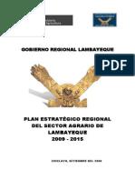 Lambayeque Plan Estrtategico Sector Agrario 2009-2015