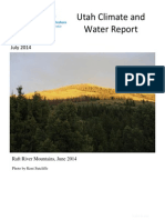 Climate and Water Report July 2014