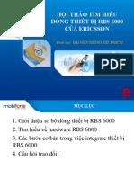 Hoi Thao Thiet Bi RBS 6000