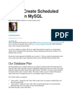 Scheduled Events in MySQL Load Csv Fileto Mysqltab