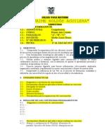 Plan Anual de Computacion 2009-2010 Gladys Lucio