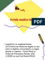 Actele Medico-legale S2