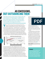 Not Curbing Emissions, But Outsourcing Them