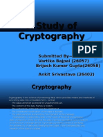A Study of Cryptography