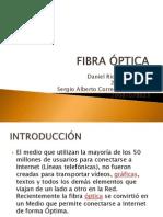 Medios de Transmisión Cableados Fibra Óptica
