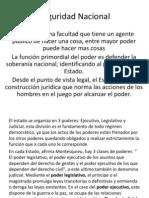 Economia Seguridad Nacional, Corrupcion , Relacines Mexico Estados Unidos