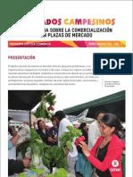 Mercados Campesinos, Experiencia sobre la Comercialización en Plazas de Mercado