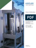 Force Calibration Piezoeletric