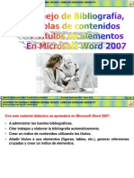 Normas APA en Word 2007