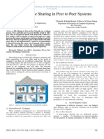 Advanced File Sharing in Peer to Peer Systems