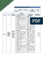 Planificación Anual Ingles 8 Basico