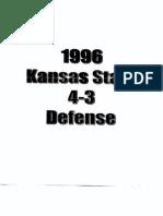 96 Kansas State 4-3 Defense