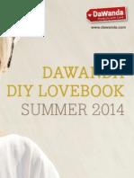 DIY DaWanda Lovebook Summer 2014 (english version)