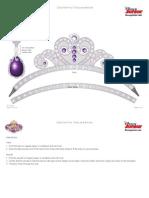Disney Sofia the First Tiara Amulet Craft Printable 1012