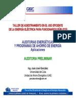 Auditoria Energetica Preliminar de Edificaciones Publicas en Venezuela - 2 Aplicaciones Ejemplo