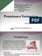 Proteínas e Fermentos - correcto 2003